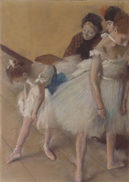 Degas, Edgar: Dance Examination. Fine Art Print/Poster. Sizes: A4/A3/A2/A1 (003746)